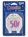 marvelous 50 candle