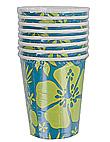 paradise floral 8ct cup