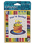 party time 8ct invite